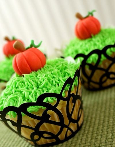 Halloween Pumpkin cupcake