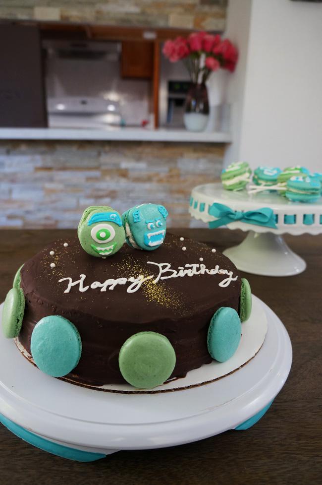 Monster University Cake and dessert