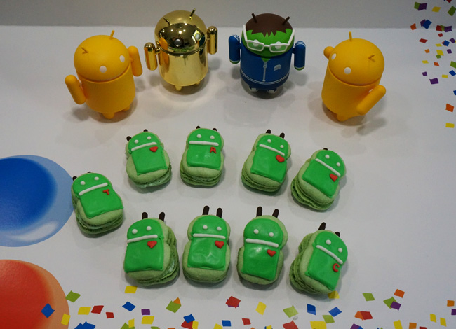Android Macaron Green tea Macaron