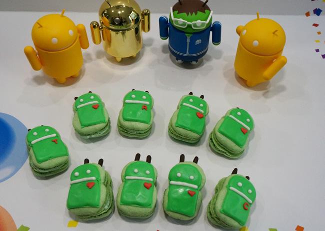 Android bug macaron