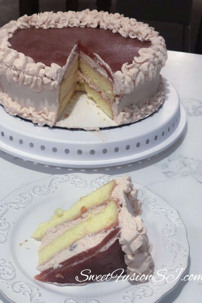 Guava Cream Cake Recipe