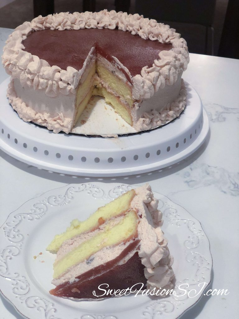 Guava Cream Cake Recipe