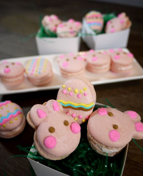 Cute Easter Dessert Recipe – Rabbit Macaroon